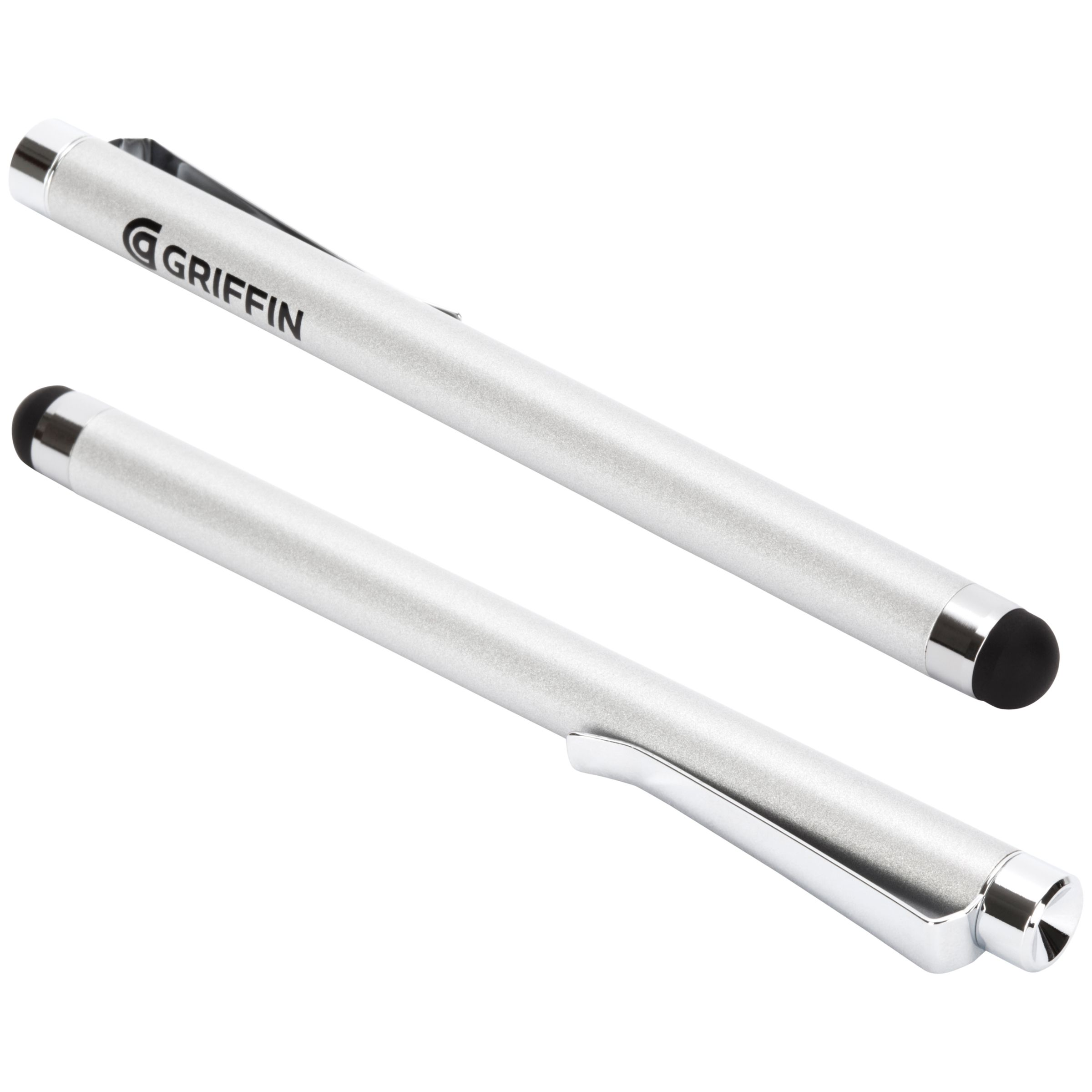 Griffin Griffin Stylus for iPad and Capacitive Touchscreens, Silver