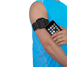 Buy Belkin Clip-Fit Armband for iPhone 6, Black Online at johnlewis.com