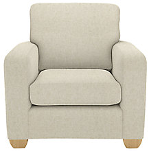 Buy John Lewis Gino Armchair, Darwen Natural Online at johnlewis.com