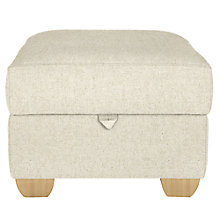Buy John Lewis Gino Footstool, Darwen Natural Online at johnlewis.com