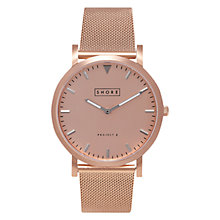 Buy Shore Projects Salcombe W005S021R Unisex Watch, Rose Gold Online at johnlewis.com