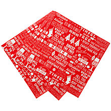 Buy Talking Tables Ho Ho Ho Dinner Paper Napkins, Pack of 20 Online at johnlewis.com