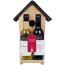 Buy Birdhouse With Wine Gift Set Online at johnlewis.com
