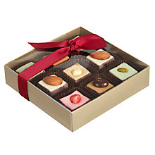 Buy Natalie Chocolate Dipped Marzipan Squares Online at johnlewis.com