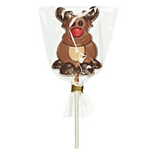 Buy Milk Chocolate Reindeer Lolly Online at johnlewis.com