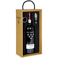 Buy Grahams 6 Grapes Port Gift Set, 75cl Online at johnlewis.com