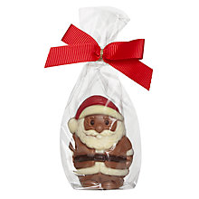 Buy Milk Chocolate Mini Santa Online at johnlewis.com