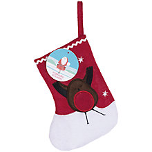 Buy Mini Robin Christmas Stocking With 100g Jelly Beans Online at johnlewis.com