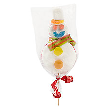 Buy Snowman Marshmallow Lolly Online at johnlewis.com