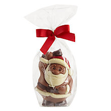Buy Milk Chocolate Santa Figure Online at johnlewis.com