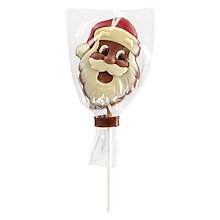 Buy Milk Chocolate Santa Lolly Online at johnlewis.com