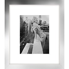 Buy Getty Images - Marilyn On Roof Giclee Print, Silver Frame, 60 x 52cm Online at johnlewis.com