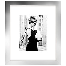 Buy Getty Images - Lunch On 5th Ave, Silver Frame, 60 x 52cm Online at johnlewis.com
