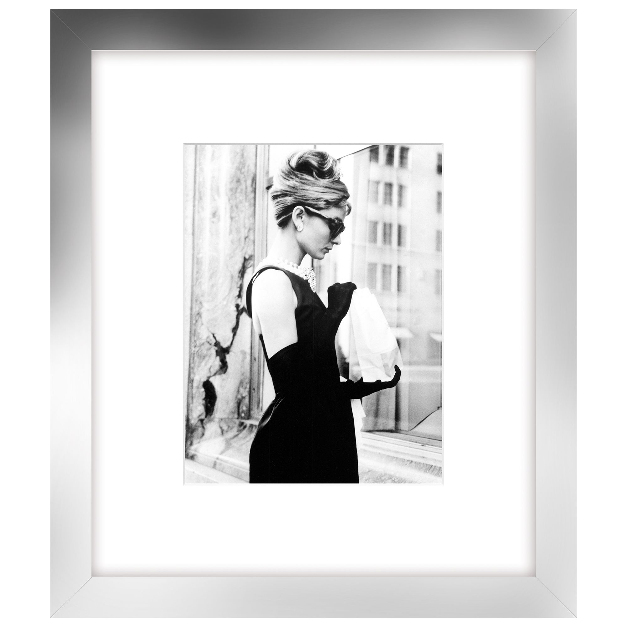 Getty Images Gallery Getty Images - Lunch On 5th Ave, Silver Frame, 60 x 52cm