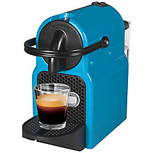 Buy Magimix Nespresso 11356 Inissia Coffee Machine, Pacific Blue Online at johnlewis.com