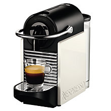 Buy Nespresso 11370 Magimix Pixie Clips Coffee Machine, Black/White Online at johnlewis.com