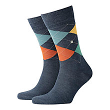 Buy Burlington Edinburgh Argyle Four Colour Socks, One Size Online at johnlewis.com