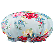 Buy Cath Kidston Park Rose Floral Print Bath Hat Online at johnlewis.com
