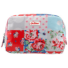 Buy Cath Kidston Box Cosmetic Bag, Patchwork Online at johnlewis.com