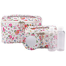 Buy Cath Kidston Vanity Case Set Bramley Sprig Online at johnlewis.com