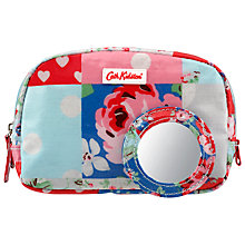 Buy Cath Kidston Box Make-up Case, Patchwork Online at johnlewis.com