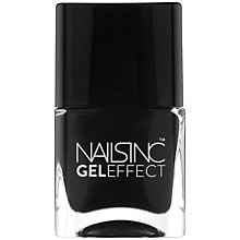Buy Nails Inc. Black Taxi Gel Effect Nail Polish, 14ml, Black Online at johnlewis.com