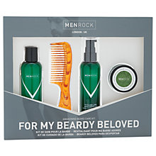 Buy Men Rock Awakening Beard Care Gift Set Online at johnlewis.com