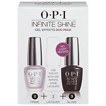 Buy OPI Infinite Shine Base & Top Coat Duo, 2 x 15ml Online at johnlewis.com