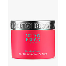 Buy Molton Brown Fiery Pink Pepper Pampering Body Polisher, 250ml Online at johnlewis.com