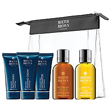 Buy Molton Brown Mens' Carry-on Bodycare Gift Set Online at johnlewis.com