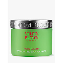 Buy Molton Brown Infusing Eucalyptus Stimulating Body Polisher, 250ml Online at johnlewis.com
