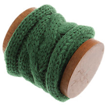 Buy John Lewis Cable Knit Trim on Wooden Spool, 1m Online at johnlewis.com