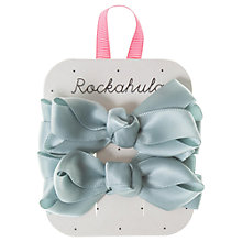 Buy Rockahula Satin Ruffle Bow Hair Clip Online at johnlewis.com