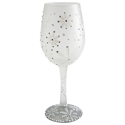 Lolita Christmas Winter Wine Glass