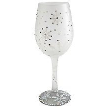 Buy Lolita Christmas Winter Wine Glass Online at johnlewis.com