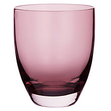 Buy John Lewis Midwinter Glass Tumbler, Plum Online at johnlewis.com