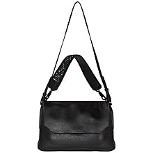 Buy Calvin Klein Claire Large Across Body, Black Online at johnlewis.com