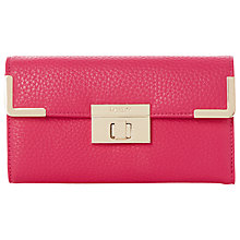 Buy Dune Korina Corner Detail Purse, Pink Online at johnlewis.com