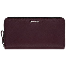 Buy Calvin Klein Sofie Large Zip Around Purse Online at johnlewis.com