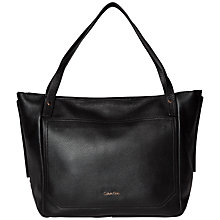 Buy Calvin Klein Charlene East/West Tote, Black Online at johnlewis.com