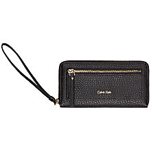 Buy Calvin Klein Cecile Large Zip Around Purse Online at johnlewis.com