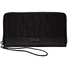 Buy Calvin Klein Jennifer Large Zip Around Purse Online at johnlewis.com