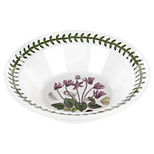 Buy Portmeirion Botanic Garden Cyclamen Bowl, Dia.15cm, Seconds Online at johnlewis.com