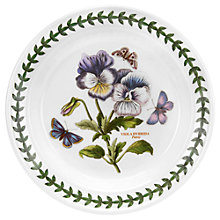 Buy Portmeirion Botanic Garden Pansy Plate, Dia.15cm, Seconds Online at johnlewis.com