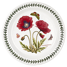 "Buy Portmerion Botanic Garden Poppy 8"" Plate Online at johnlewis.com"