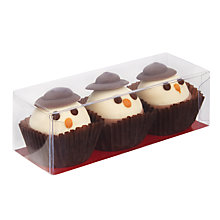 Buy Three Snowman Chocolate Cups Online at johnlewis.com