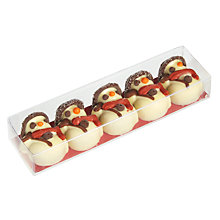 Buy Five Praline Snowmen Online at johnlewis.com