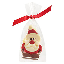 Buy Four White Chocolate Santa Caraques Online at johnlewis.com