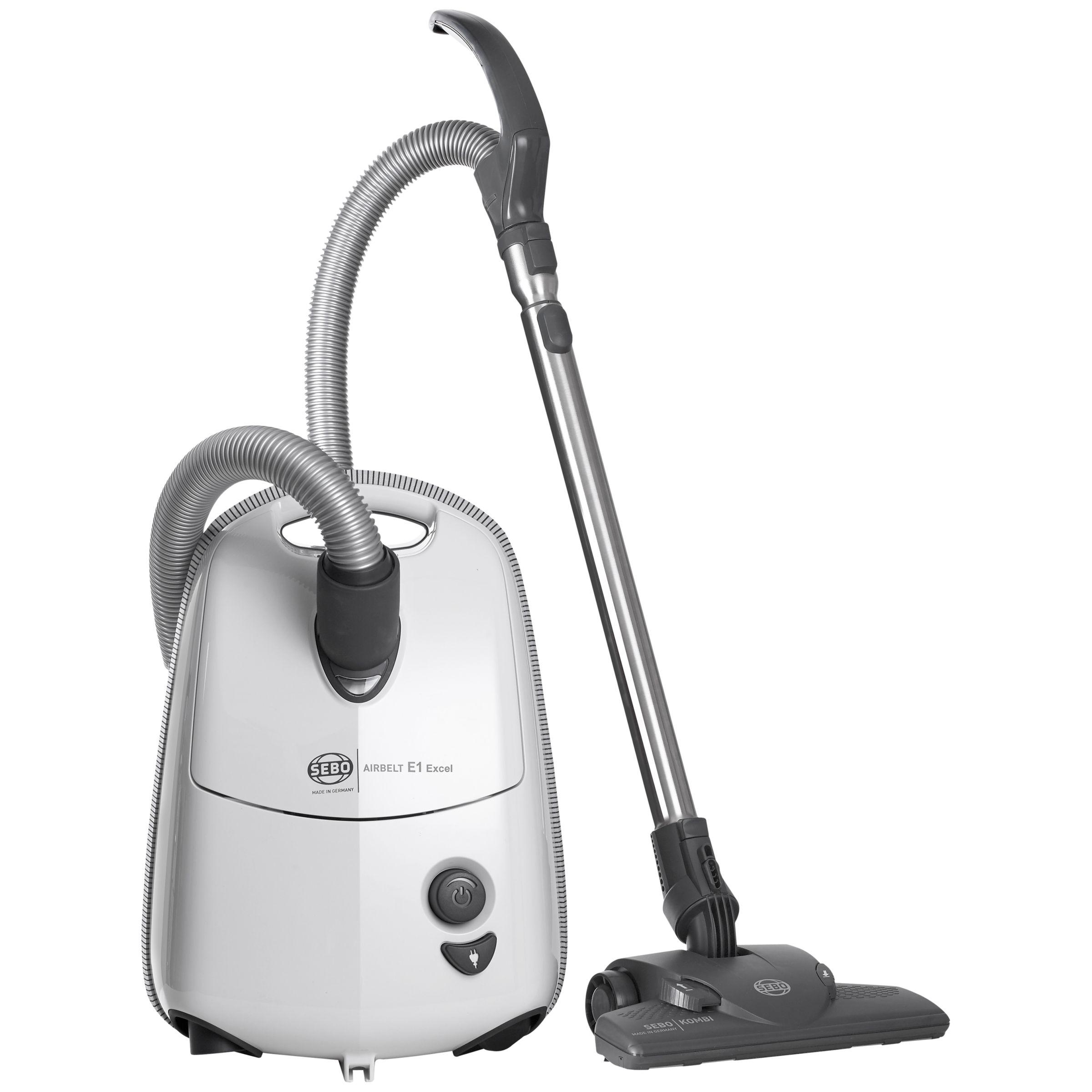 Sebo Sebo 91602GB Airbelt E1 Excel Vacuum Cleaner, White