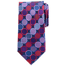 Buy John Lewis Bold Circle Dot Silk Tie, Multi Online at johnlewis.com